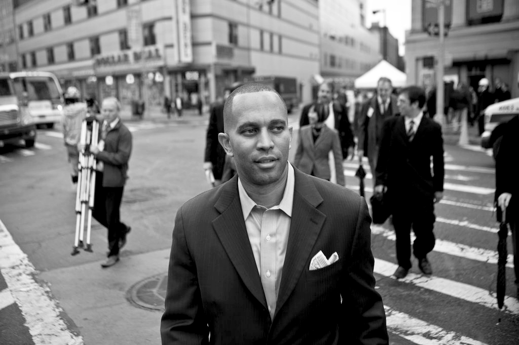 Hakeem Jeffries in New York city